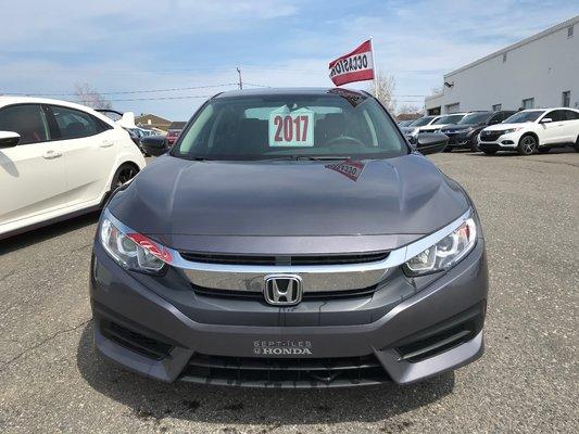 Honda Civic Sedan DX 2017 BAS KM (17/25)