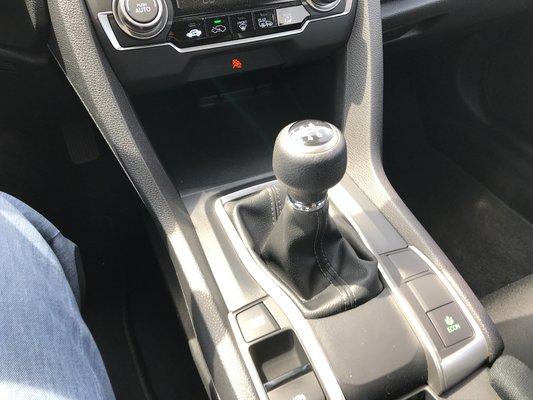 Honda Civic Sedan DX 2017 BAS KM (23/25)