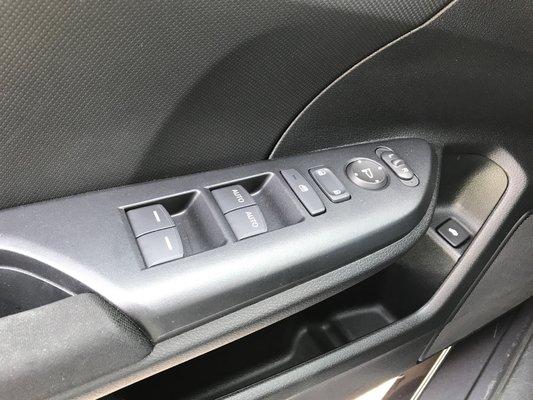 Honda Civic Sedan DX 2017 BAS KM (22/25)