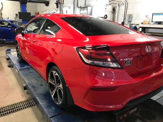 2018 Honda Civic Type R (19/22)