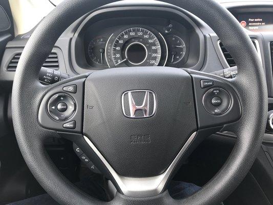 Honda CR-V EX 2015 BAS KM (12/15)