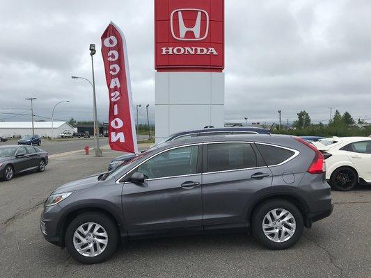 2015 Honda CR-V EX (6/17)