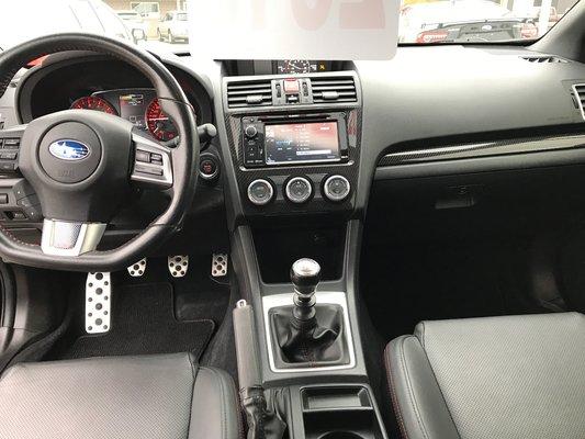 Subaru WRX W/Sport-tech Pkg 2015 AWD (9/14)