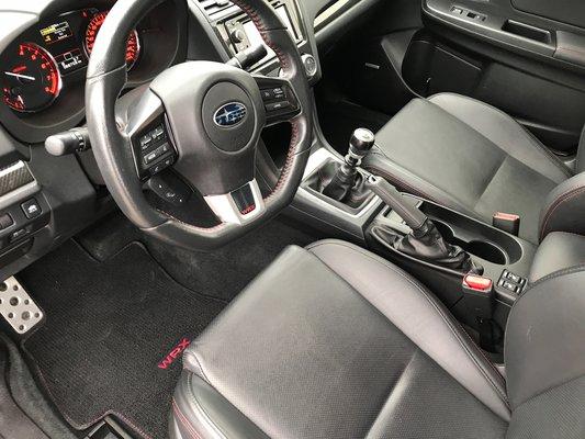 Subaru WRX W/Sport-tech Pkg 2015 AWD (7/14)