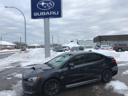 Subaru WRX Sport-tech 2018 AWD (1/16)