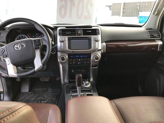 Toyota 4Runner LIMITEE/SR5 2016 LTEE BAS KM (10/27)