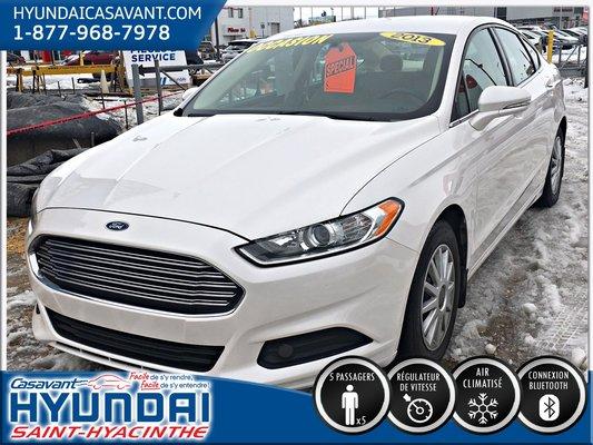 Ford Fusion SE ** Siège conducteur électrique ** 2013