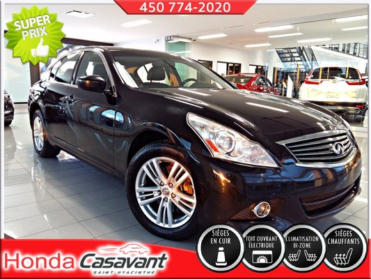 Infiniti G37 Sedan AWD / Luxury 2011