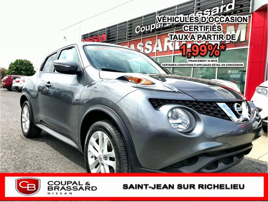 Nissan Juke SV*BLUETOOTH*AIR CLIMATISÉ*BAS MILLAGE* 2015