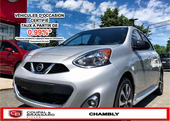 2015 Nissan Micra SR*JAMAIS ACCIDENTÉ*UN SEUL PROPRIO*