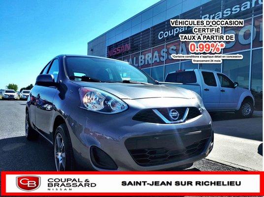2017 Nissan Micra SV*Bluetooth*Air climatisé*1 proprio*