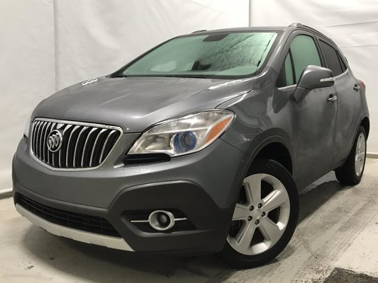 Buick ENCORE AWD LEATHER CUIR toit ouvrant gps BOSE volant chauffants 2015