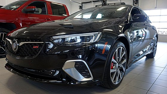 New 2018 Buick Regal Sportback Gs Awd Ebony Twilight Metallic