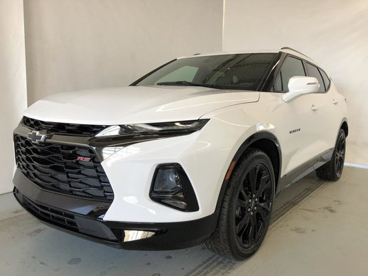 New 2019 Chevrolet Blazer 1rs 3 6l Awd Summit White