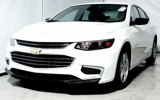 2016 Chevrolet MALIBU LS A/C CAMERA RECUL BLUETOOTH