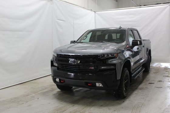 New 2019 Chevrolet Silverado 1500 2LT, Trail Boss, Crew Cab, S/Box Satin Steel Metallic - $64195 ...