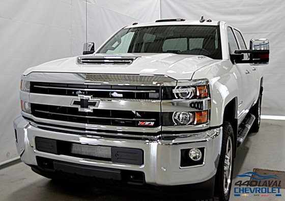New 2019 Chevrolet Silverado 2500HD 1LZ, Z71, Crew Cab, STD/Box, Duramax Summit White - $85185.0 ...