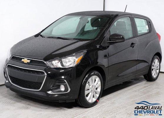 New 2018 Chevrolet Spark Lt Noir Mosaique Metallise 157900 440