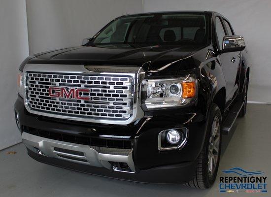 Gmc Canyon Denali >> New GMC Canyon Denali, Diesel, Crew Cab,S/Box 2019 Noir ...