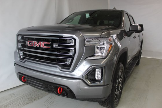 New 2019 Gmc Sierra 1500 At4 Crew Cab S Box Satin Steel
