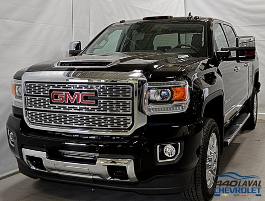New 2019 GMC Sierra 2500HD Denali, Crew Cab Onyx Black ...