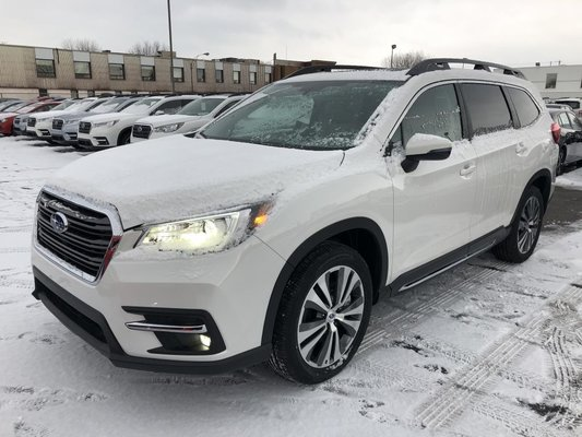 2019 Subaru ASCENT Limited, 2.4L, Bancs Capitaine, CVT, AWD