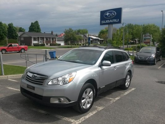 2012 Subaru Outback Wagon 2,5i LIMITED CUIR TOIT OUVRANT
