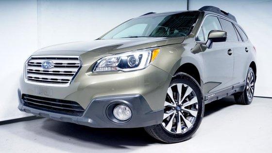 Used Vert sauvage métallisé 2015 Subaru Outback Wagon 3 6R