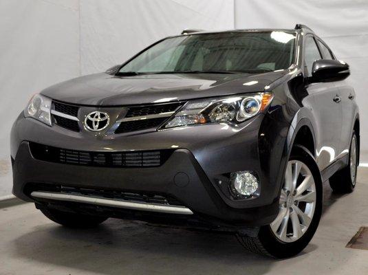 Toyota RAV4 LIMITED AWD GPS CUIR TOIT OUVRANT 2015