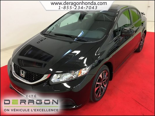 Used 2014 Honda Civic Sedan Ex 1 8l Manuelle Bas Kilo Camera De