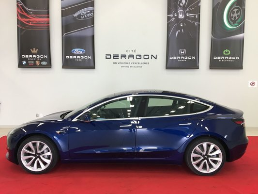 2018 tesla model 3 batterie longue autonomie intrieur premium long range batterie premium interior