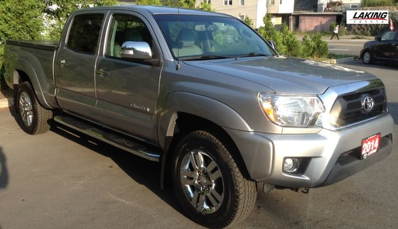 Used 2014 Toyota Tacoma LIMITED 4X4 DOUBLE CAB NAVIGATION in