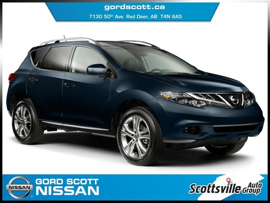 2014 Nissan Murano SL AWD, Leather, Bose Audio, Moonroof