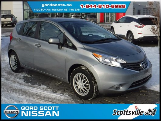 2014 Nissan Versa Note SV Convenience Pkg, Cloth, Cruise, USB