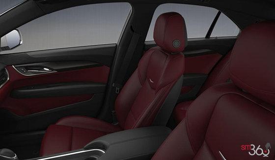 Morello Red/Jet Black Semi-Aniline Leather
