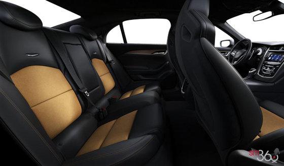 Jet Black/Saffron Leather w/Sueded Microfibre