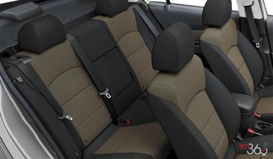 Jet Black/Brownstone Premium Cloth