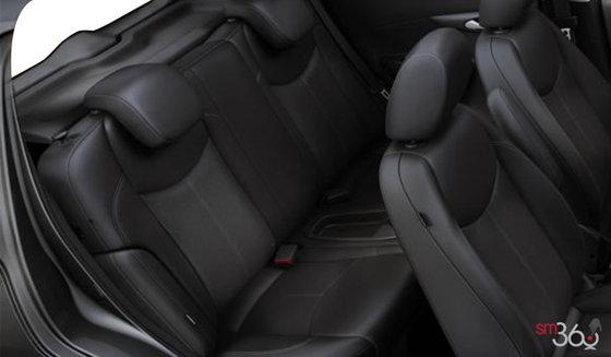 Similicuir noir jais/noir piano