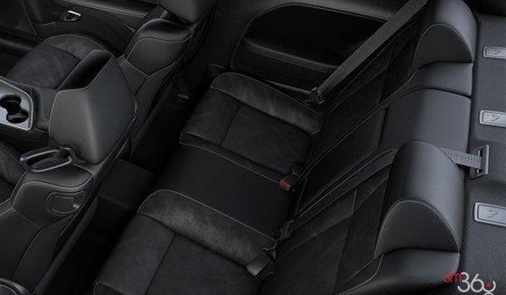 Black Nappa Leather/Alcantara