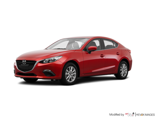 2016 MAZDA 3 GS D4SK86-AA00 AUTO (EXTRA RED PAINT) D4SK86-AA00 GS