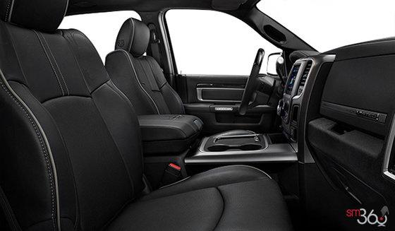 Black Premium Perforated Leather