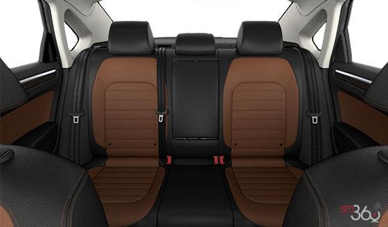 Titan Black/Golden Oak Vienna Leather