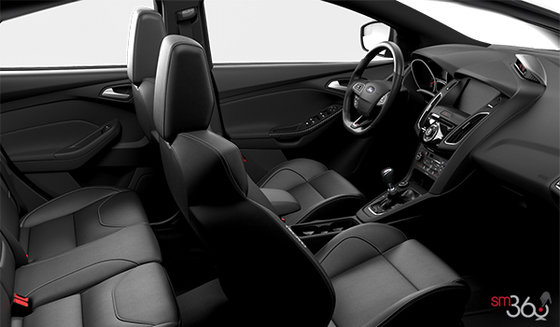Charcoal Black Recaro Leather