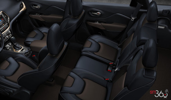 Brown/Indigo Ventilated Leather