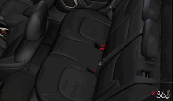 Tissu de luxe noir
