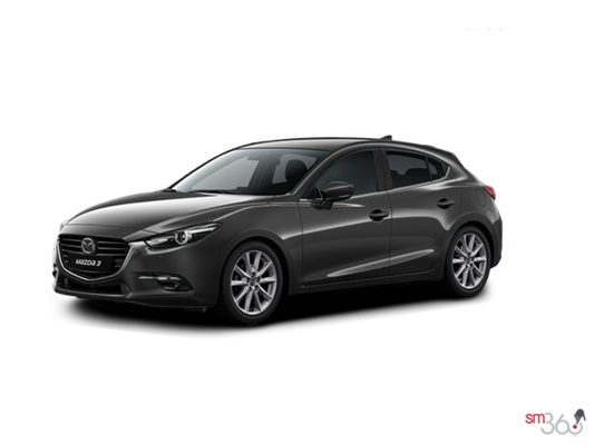 2017 Mazda MAZDA 3 SPORT GT AUTO (EXTRA RED/GREY PAINT) GT