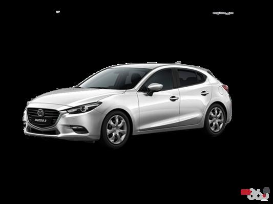 2017 Mazda MAZDA 3 SPORT GX AUTO (EXTRA PEARL PAINT) GX