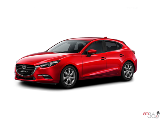 2017 Mazda MAZDA 3 SPORT GX MANUAL (EXTRA RED PAINT) GX