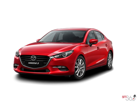 2017 Mazda MAZDA 3 GS AUTO (EXTRA RED/GREY PAINT) GS
