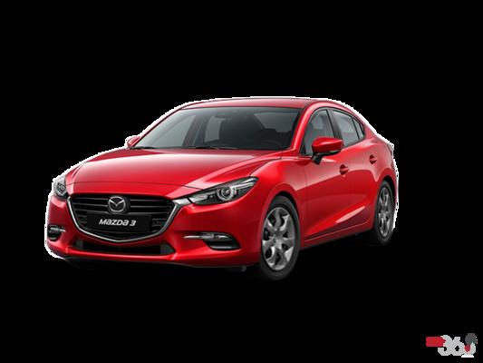 2017 Mazda MAZDA 3 GX MANUAL (EXTRA RED PAINT) GX